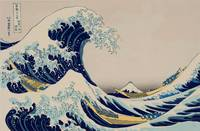 Great Wave by Katsushika Hokusai Asian Seascape