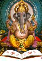 Lord Ganesha Poster Hindu God and Goddesses