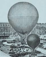 Steam Balloon of the Tuileries Court by Gifford