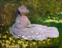 Springtime by Claude Monet (1872)