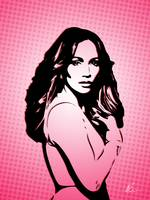 Jennifer Lopez | Pop Art