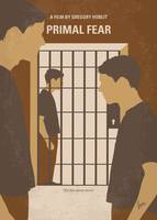 No1127 My Primal Fear minimal movie poster