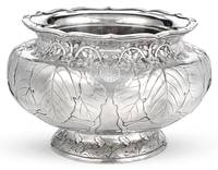A FINE LARGE SILVER IMPERIAL PRESENTATION BOWL, SI