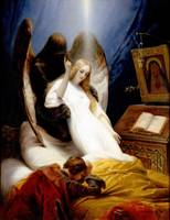Angel of Death by Horace Vernet (1851)