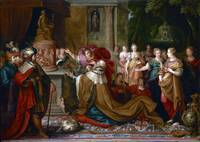 The Idolatry of Solomon by Frans Francken the Youn