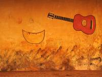 Guitar and Gourd