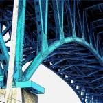 """Flats bridge2"" by graham700"