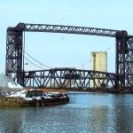 """Cuyahoga river  and Bridge"" by graham700"