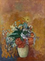 Still Life, Vase of Flowers by Odilon Redon