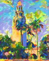 Balboa Park Picture Alcazar Garden and Tower