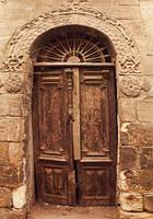 Antiquated door