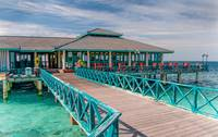 Overwater Restaurant in Maldivian Resort