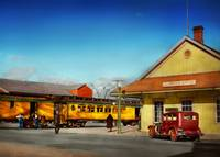 Train Station - The Virginia & Truckee Station