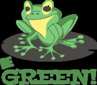 Be green toad
