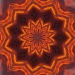 """Sunset kaleidoscope-2"" by JamieB"