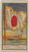 Admiral Third Rank, Japan, from the Naval Flags se