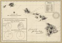 Hawaiian Islands 1896 Restored Reproductio Map