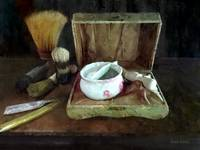 Shaving Mug and Shaving Brushes