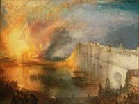The Burning of the Houses of Lords and Commons