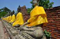 Temple of the ancient world - valley of Buddhas
