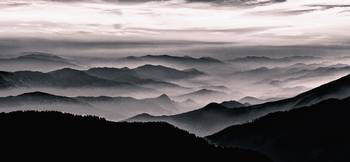 Misty Mountains Noir