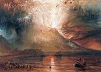 Vesuvius in Eruption by J. M. W. Turner (1820)