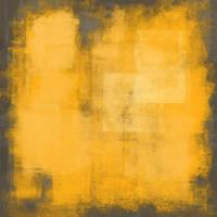 Yellow gray abstract #17