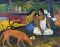 Arearea (Joyfulness) by Paul Gauguin (1892)