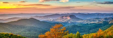 Looking Glass Rock Sunrise Pano