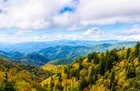 Fall Smoky Mountain Scenery