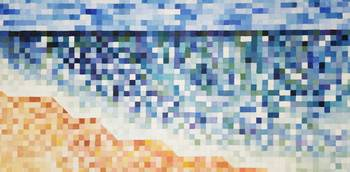Pixelated Beach