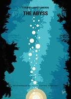 No1134 My The Abyss minimal movie poster