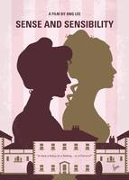 No1139 My Sense and Sensibility minimal movie post