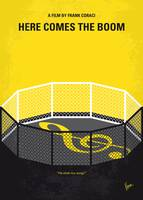 No1142 My Here Comes the Boom minimal movie poster