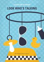 No1148 My Look Who's Talking minimal movie poster