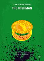 No1154 My The Irishman minimal movie poster