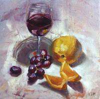 Taste and See- Red Wine and Oranges