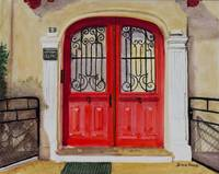 Saint_Jean_ de_Luz_Red_Door