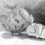 """Pencil Still Life"" by Lisa_Pluchino"
