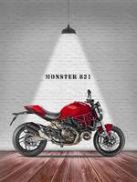 The Ducati Monster 821