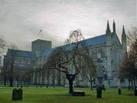 Winchester Cathedral - Early Morining Boxing Day