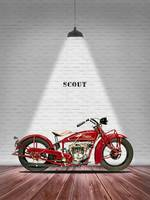 The Scout 101 Vintage Motorcycle