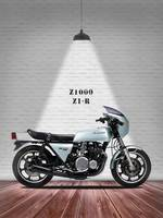 The Classic Kawasaki Z1000 Z1-R Motorcycle