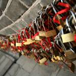 """Love Locks along the Great Wall"" by sherryli"