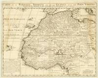 Africa, West 1732 Map of Barbary, Nigeria and Guin