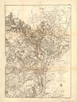 Extract of military map of N.E. Virginia showing f