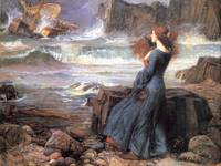 Waterhouse miranda the tempest