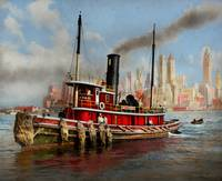 Boat - Tugboat - The Watuppa 1935