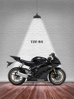 The Yamaha YZF-R6 Motorcycle