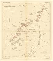 map of the Upper Nile and White Region, illustrati